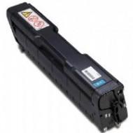 Toner Compatibile con Ricoh Aficio SP C252 Ciano (Rigenerato)